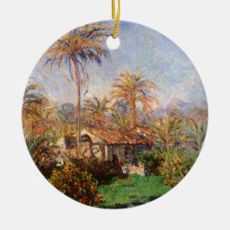 Kleiner Land-Bauernhof in Bordighera durch Claude Keramik Ornament