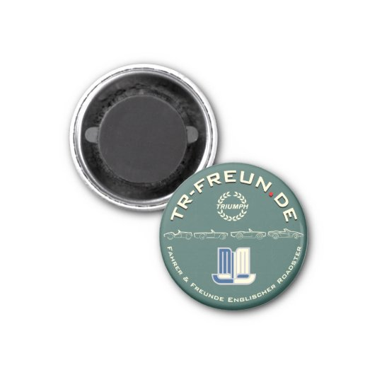 Kleiner Magnet der TR-Freunde Runder Magnet 3,2 Cm