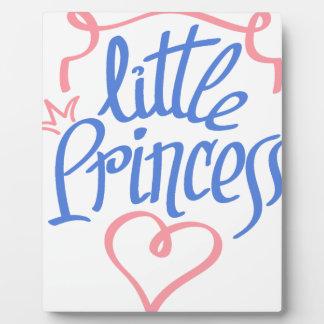 kleiner Prinzessinherzentwurf Fotoplatte