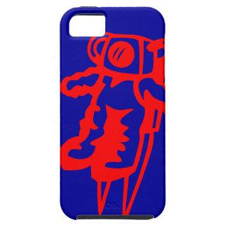 Kleiner roter Astronaut Etui Fürs iPhone 5