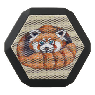 Kleiner roter Panda betreffen Tan Schwarze Bluetooth Lautsprecher