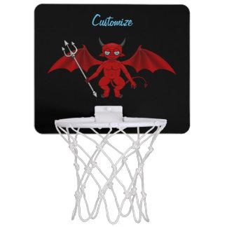 Kleiner roter Teufel Thunder_Cove Mini Basketball Netz