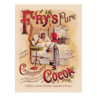 Kleiner Rotkäppchen-Kakao Postkarte