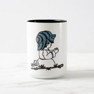 Kleiner Schäfer-Junge Zweifarbige Tasse