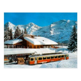 Kleiner Scheidegg Station, Jungfrau Postkarte