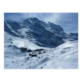 Kleiner Scheidegg und das Jungfrau Postkarte