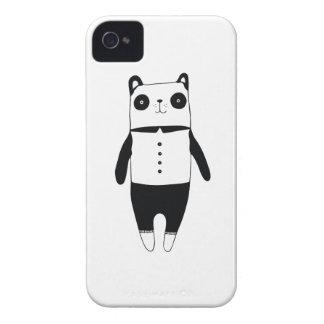 Kleiner Schwarzweiss-Panda iPhone 4 Hüllen