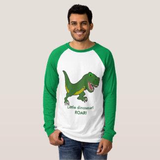 Kleiner sleeved T - Shirt des Dinosauriers lang