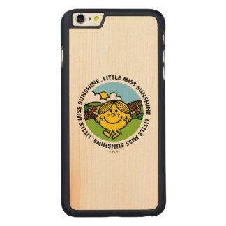 Kleiner Sonnenschein-Kreis Fräulein-Sunshine | Carved® Maple iPhone 6 Plus Hülle