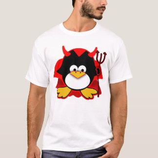 Kleiner Teufel-Pinguin T-Shirt