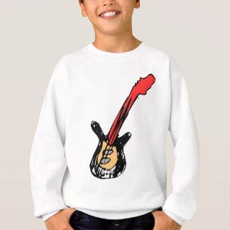 kleiner Wobblies-Felsen auf Gitarre Sweatshirt