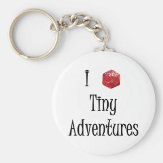 Kleines Abenteuer I d20 keychain Schlüsselanhänger
