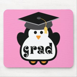 Kleines Absolventpenguin-Abschluss-Geschenk Mauspad