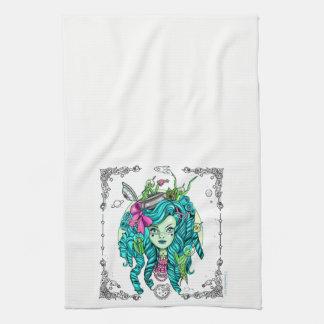 Kleines alien-Küchen-Tuch Handtuch
