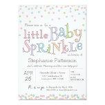 Kleines Baby besprühen Confetti-Duschen-Einladung