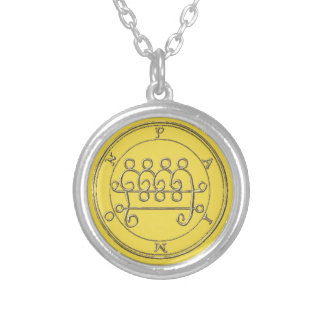 Kleines Badet Halsband das Silber Paimon 2 Versilberte Kette