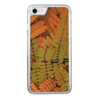 Kleines Blätter-Muster Carved iPhone 8/7 Hülle