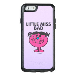 Kleines böses Lächeln Fräulein-Bad | OtterBox iPhone 6/6s Hülle