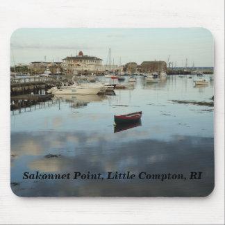 Kleines Compton, RI - Sakonnet Punkt, Hafen Mousepad