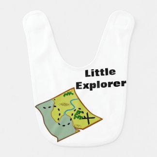 kleines Forscherkartenkompaßabenteuer-Baby-Set Lätzchen