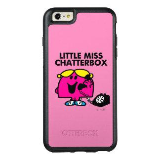 Kleines Fräulein Chatterbox u. schwarzes Telefon OtterBox iPhone 6/6s Plus Hülle
