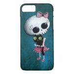 Kleines Fräulein Death - Halloween-Schönheit iPhone 7 Hülle