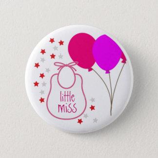 Kleines Fräulein (es ist ein Mädchen), Knopf Runder Button 5,7 Cm