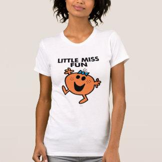 Kleines Fräulein Fun Waving Joyously T-Shirt