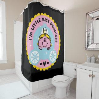 Kleines Fräulein Prinzessin   bin ich eine Duschvorhang