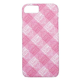 Kleines Fräulein Prinzessin | hübsch im rosa iPhone 8/7 Hülle