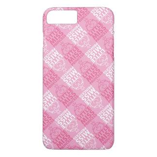 Kleines Fräulein Prinzessin   hübsch im rosa iPhone 8 Plus/7 Plus Hülle