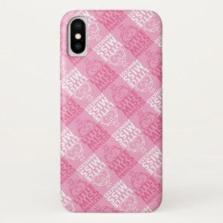 Kleines Fräulein Prinzessin   hübsch im rosa iPhone X Hülle