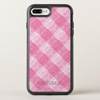 Kleines Fräulein Prinzessin   hübsch im rosa OtterBox Symmetry iPhone 8 Plus/7 Plus Hülle