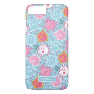 Kleines Fräulein-Prinzessin   hübsches rosa u. iPhone 8 Plus/7 Plus Hülle