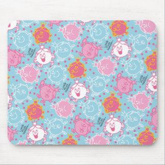 Kleines Fräulein-Prinzessin | hübsches rosa u. Mousepad