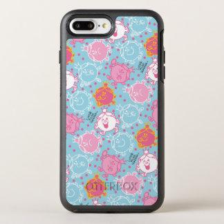Kleines Fräulein-Prinzessin   hübsches rosa u. OtterBox Symmetry iPhone 8 Plus/7 Plus Hülle