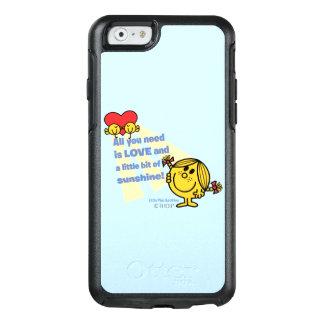 Kleines Fräulein Sunshine | alle, die Sie OtterBox iPhone 6/6s Hülle