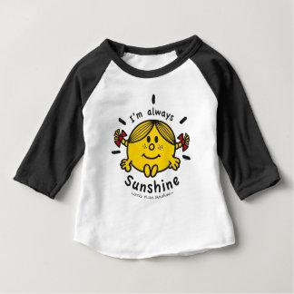 Kleines Fräulein Sunshine | bin ich immer Baby T-shirt