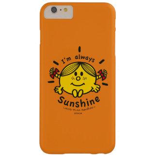 Kleines Fräulein Sunshine | bin ich immer Barely There iPhone 6 Plus Hülle