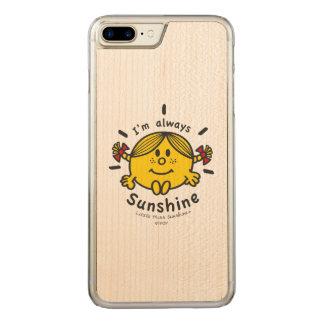 Kleines Fräulein Sunshine | bin ich immer Carved iPhone 8 Plus/7 Plus Hülle
