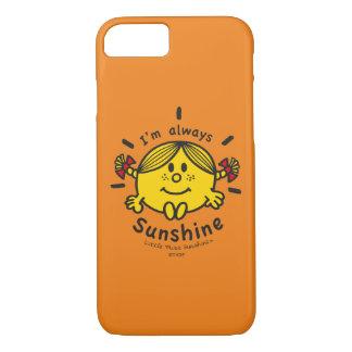 Kleines Fräulein Sunshine | bin ich immer iPhone 8/7 Hülle