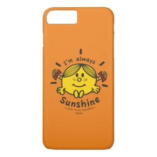 Kleines Fräulein Sunshine | bin ich immer iPhone 8 Plus/7 Plus Hülle
