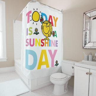 Kleines Fräulein Sunshine   ist heute ein Duschvorhang