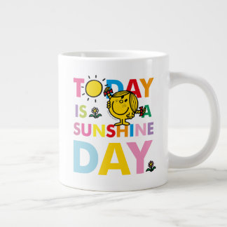 Kleines Fräulein Sunshine | ist heute ein Jumbo-Tasse