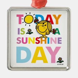 Kleines Fräulein Sunshine   ist heute ein Silbernes Ornament
