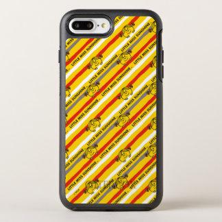 Kleines Fräulein Sunshine   rot, gelbes OtterBox Symmetry iPhone 8 Plus/7 Plus Hülle