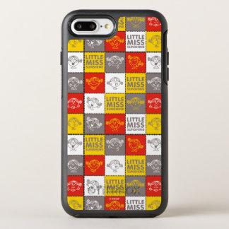 Kleines Fräulein Sunshine   rotes u. gelbes Muster OtterBox Symmetry iPhone 8 Plus/7 Plus Hülle