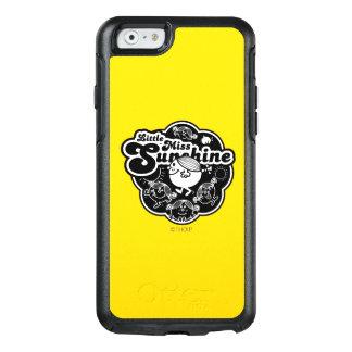 Kleines Fräulein Sunshine | schwarz u. Weiß OtterBox iPhone 6/6s Hülle