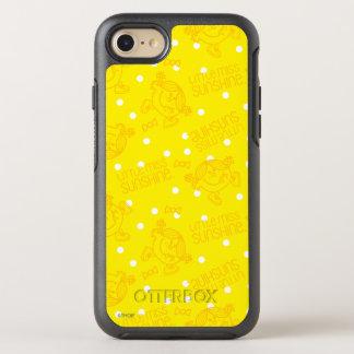 Kleines Fräulein Sunshine Yellow und Tupfen-Muster OtterBox Symmetry iPhone 8/7 Hülle