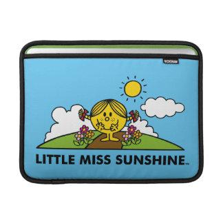 Kleines Fräulein Sunshine | zurück zu Natur Sleeve Fürs MacBook Air